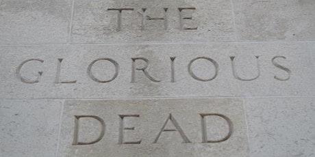 London Memorials of World War One tickets