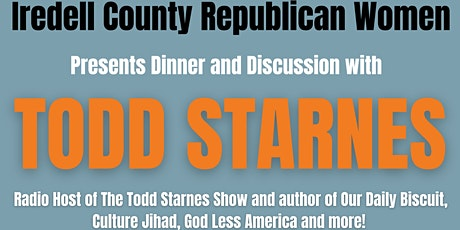 Todd Starnes: Dinner and Discussion tickets