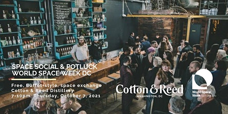 Social and Potluck, Washington DC, World Space Week 2021 tickets