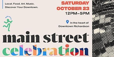 Main Street Celebration | Richardson tickets