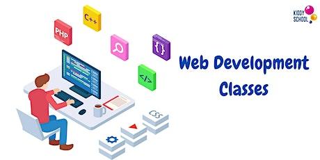 Web Development  trial class - learn professional web development tickets