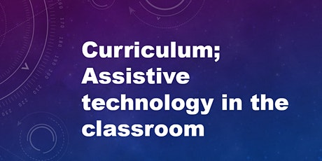 Assistive technology in the classroom tickets