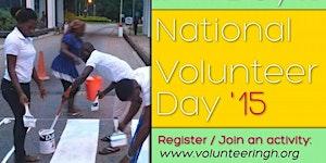 National Volunteer Day 2015