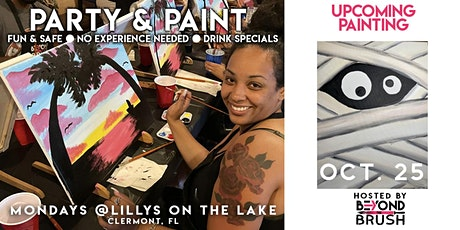 Sip & Paint Night Party - Funny Mummy tickets