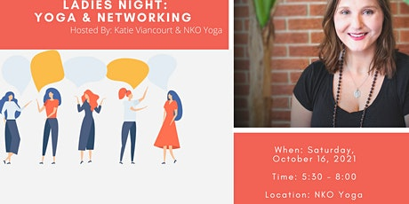 Ladies Night: Yoga & Networking tickets