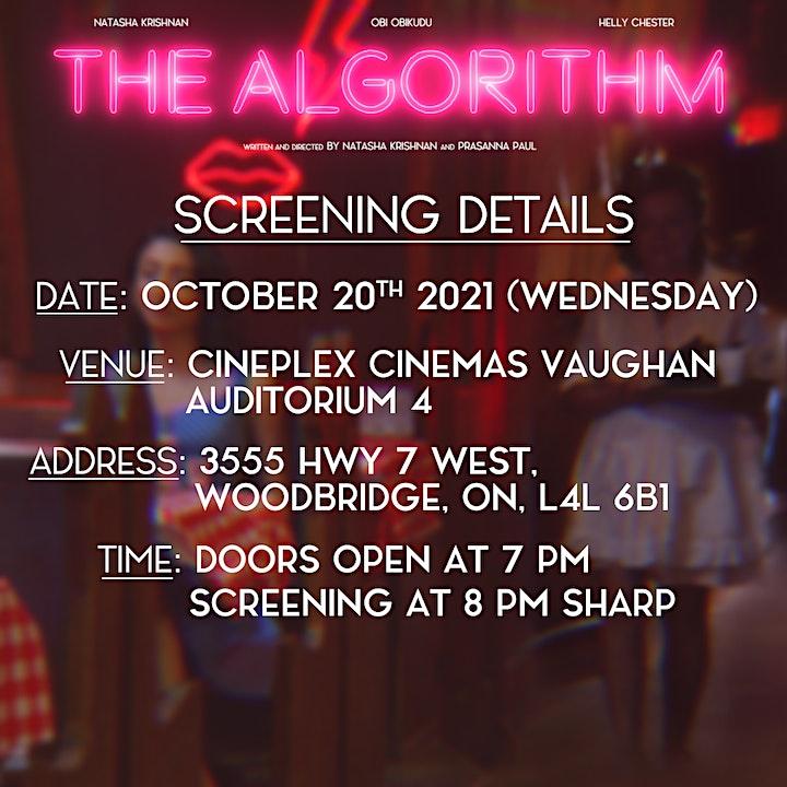 The Algorithm Film Screening image