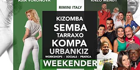 IMMERSIONE KIZOMBA WELLNESS WEEKENDER By KIZOMBAFRO biglietti