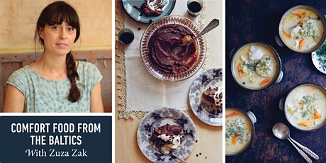 Comfort Food from the Baltics with Zuza Zak tickets