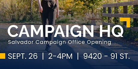Campaign Office Opening (Outdoors) tickets