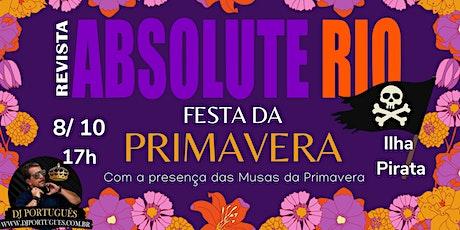 FESTA DA PRIMAVERA ingressos