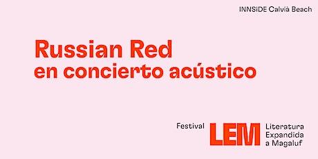 Russian Red en concierto acústico tickets