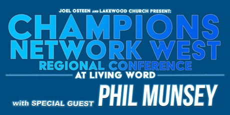 Champions Network West Regional Conference   General admission tickets