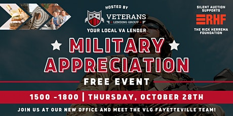 Free Military Appreciation Event - Fayetteville, NC tickets
