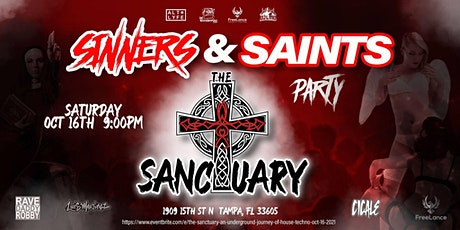 The Sanctuary: An Underground Journey of House & Techno - Oct. 16, 2021 tickets
