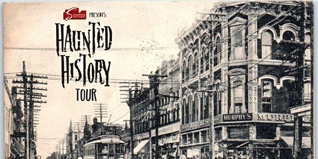 Haunted History Tour of Sherman, TX 10.23.21 tickets