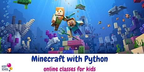 Minecraft trial class - learn professional programming tickets