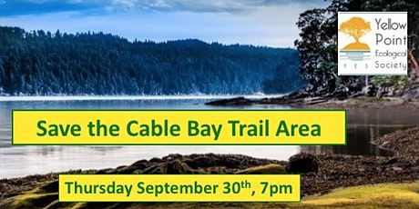 Save the Cable Bay Trail Area tickets