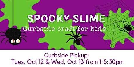 Kids' Craft: Spooky Slime -- Curbside Supply Bag Pickup tickets