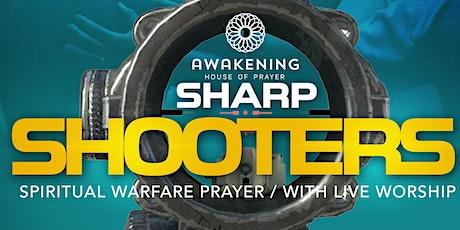 Spiritual Warfare & Prophetic Prayer (Sharp Shooters) entradas