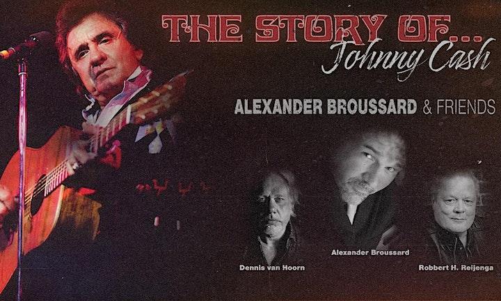 Afbeelding van The Story of Johnny Cash - Alexander Broussard & Robbert H. Reijenga