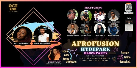 AFROFUSION HYDE-PARK BLOCK PARTY tickets