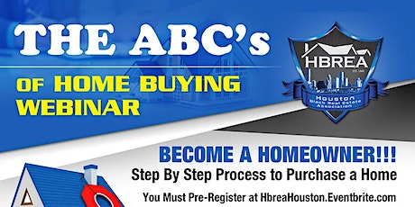 The ABC's of Homebuying Webinar tickets