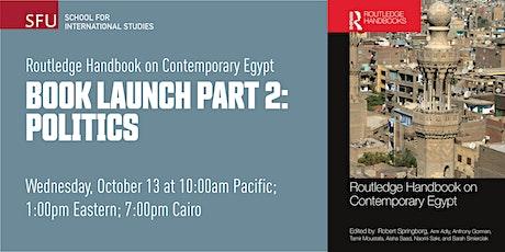Routledge Handbook on Contemporary Egypt Book Launch: Politics tickets