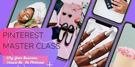 Pinterest 101 Master Class tickets