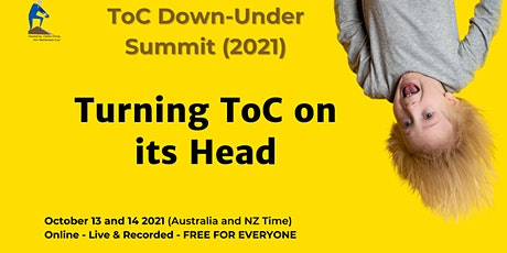 ToC Down-Under - The Global ToC Summit streaming from Oz and NZ tickets