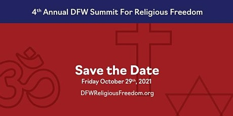 FREE LIVE STREAM Registration for 4th Annual DFW Interfaith Summit tickets