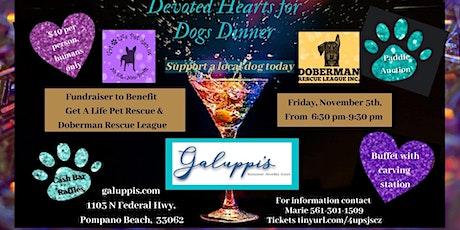 Dinner fundraiser benefiting Doberman Rescue League tickets