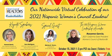 Celebrating our 2021 Hispanic Leaders of Women's Council! tickets