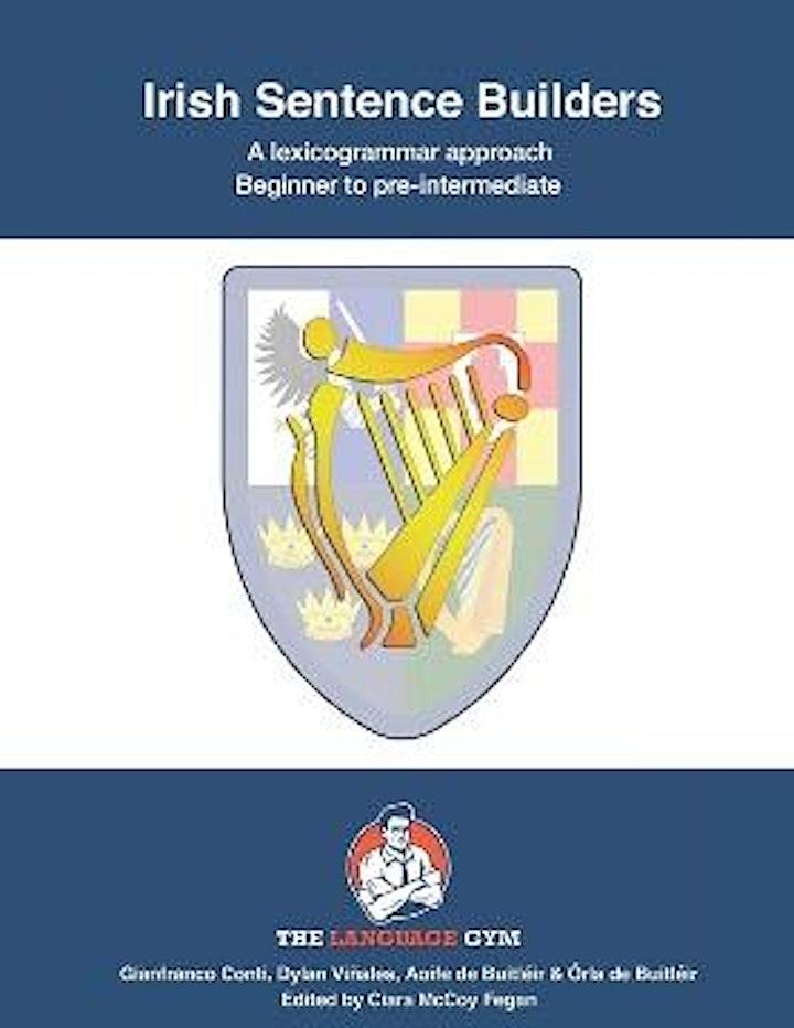 Ceardlann ar líne ar 'Irish Sentence Builders' le hAoife agus Órla de Buitl image