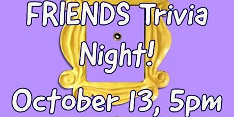 FRIENDS Virtual Trivia Night tickets