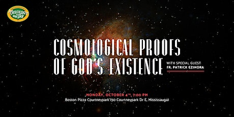 Cosmological Proofs of God's Existence tickets