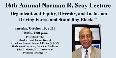 16th Annual Norman R. Seay Lecture tickets