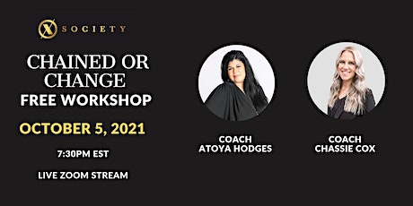 Chained or Change Workshop tickets