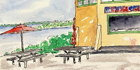 """""""Seeing Our Home"""" Online Urban Sketching: Greenwich Bay tickets"""