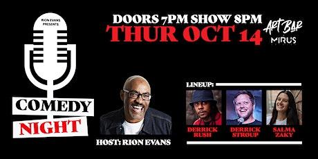 Comedy Night at Mirus Art Bar tickets