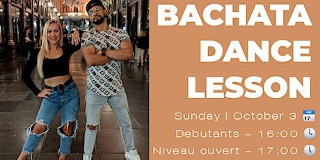 Bachata - Cours de danse billets