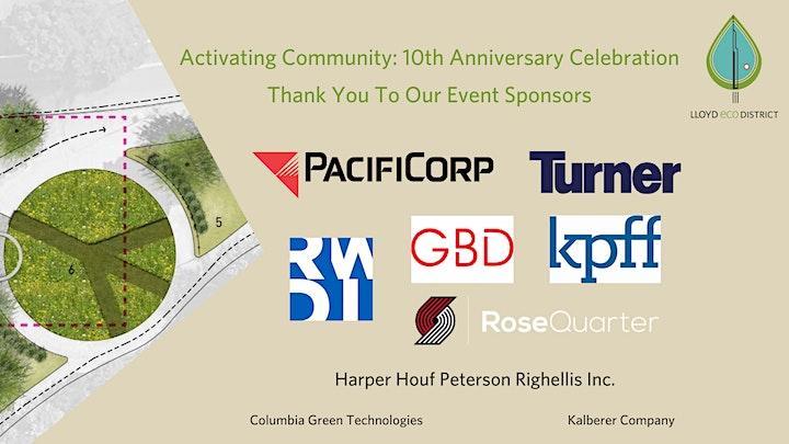 Activating Community: 10th Anniversary Celebration image