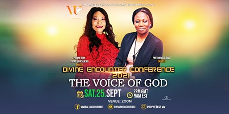 Divine Encounter Conference 2021: The Voice of God tickets