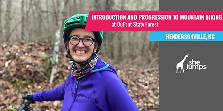 NC Introduction and Progression to Mountain Biking tickets