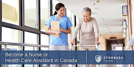 Philippines: Become a Nurse/HCA in Canada – Free Webinar: October 23, 10 am tickets