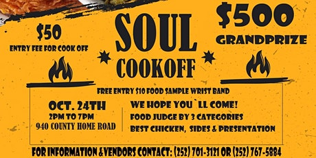 Soul Cook Off tickets