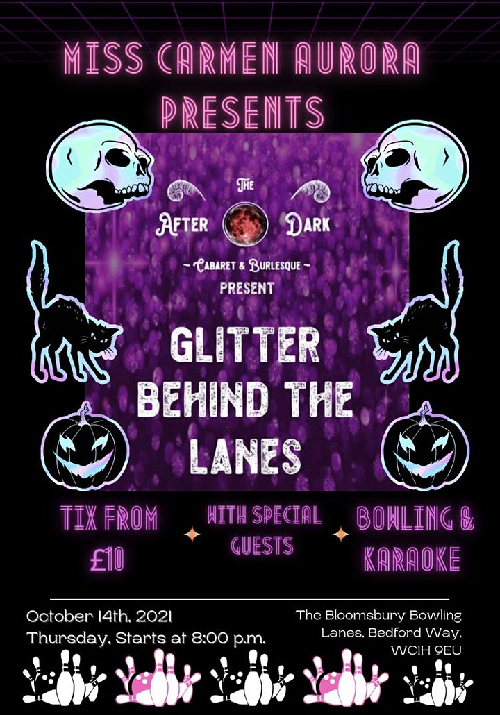 The After Dark Presents.... Glitter Behind The Lanes Spooktacular Show image