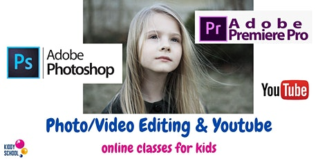 Photo/video editing & Youtube - trial class for kids tickets