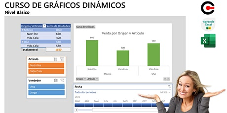 Gráficos dinámicos con Excel (Noviembre) boletos