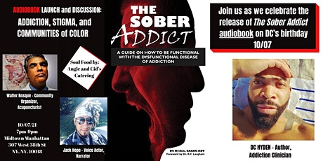 The Sober Addict Audiobook Launch and Discussion tickets