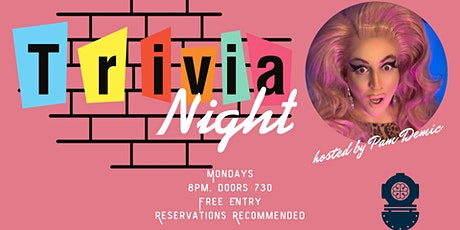 Trivia Night @ The Bell, Hosted by Pam Demic tickets